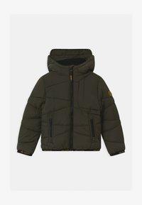 OVS - PADDED HOOD - Winter jacket - beetle - 0