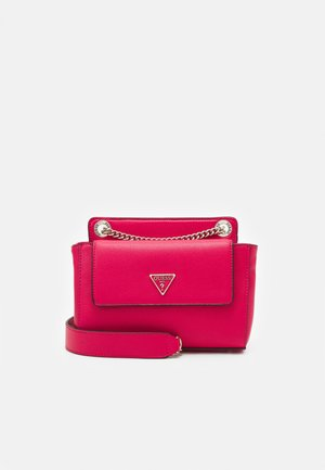 SANDRINE CONVERTIBLE CROSSBODY - Across body bag - passion