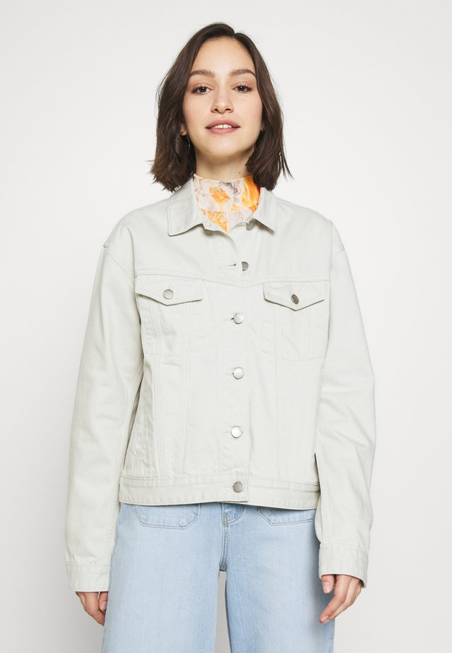 ALVA TRUCKER JACKET - Denim jacket - washed pinfire