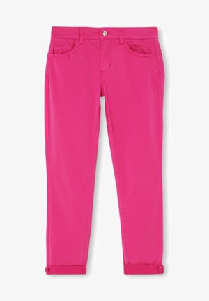 CROPPED - Jeans slim fit - pink