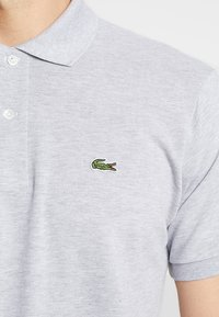 Lacoste - Polo - mottled light grey - 5