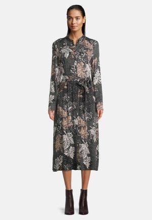 Shirt dress - black/stone