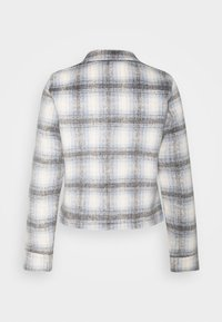 ONLY - ONLLOU SHORT CHECK JACKET - Summer jacket - pumice stone/allure - 7