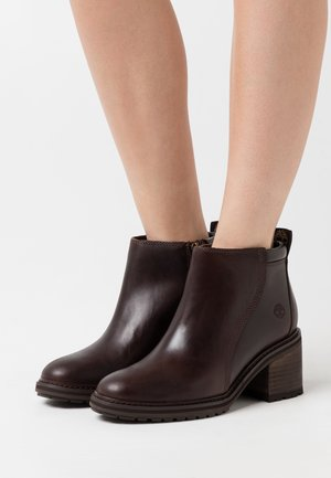 SIENNA HIGH SHOOTIE - Ankle Boot - brown