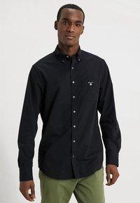 GANT - THE BROADCLOTH - Shirt - black - 0