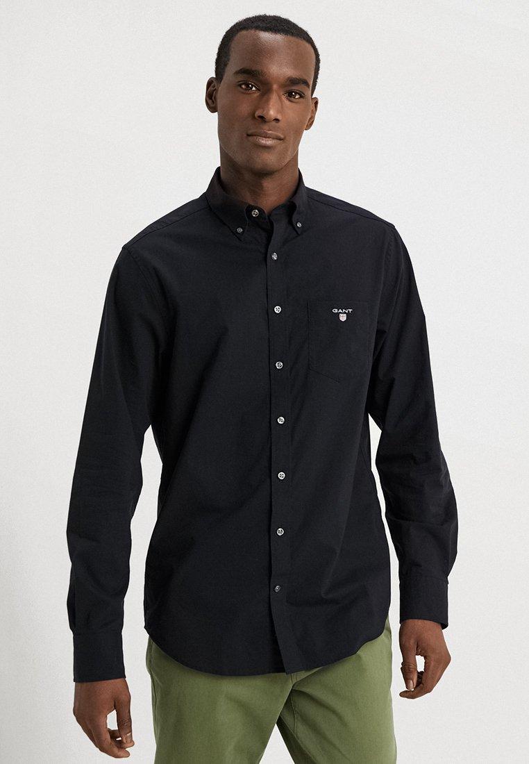 GANT - THE BROADCLOTH - Shirt - black