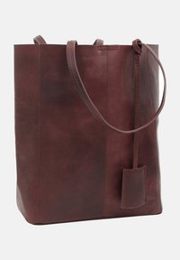 Gusti Leder - Tote bag - burgundy - 4