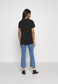Diesel - T-SILY-SMALLLOGO - Print T-shirt - black - 2