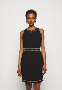 MOSCHINO - DRESS - Etui-jurk - black - 0