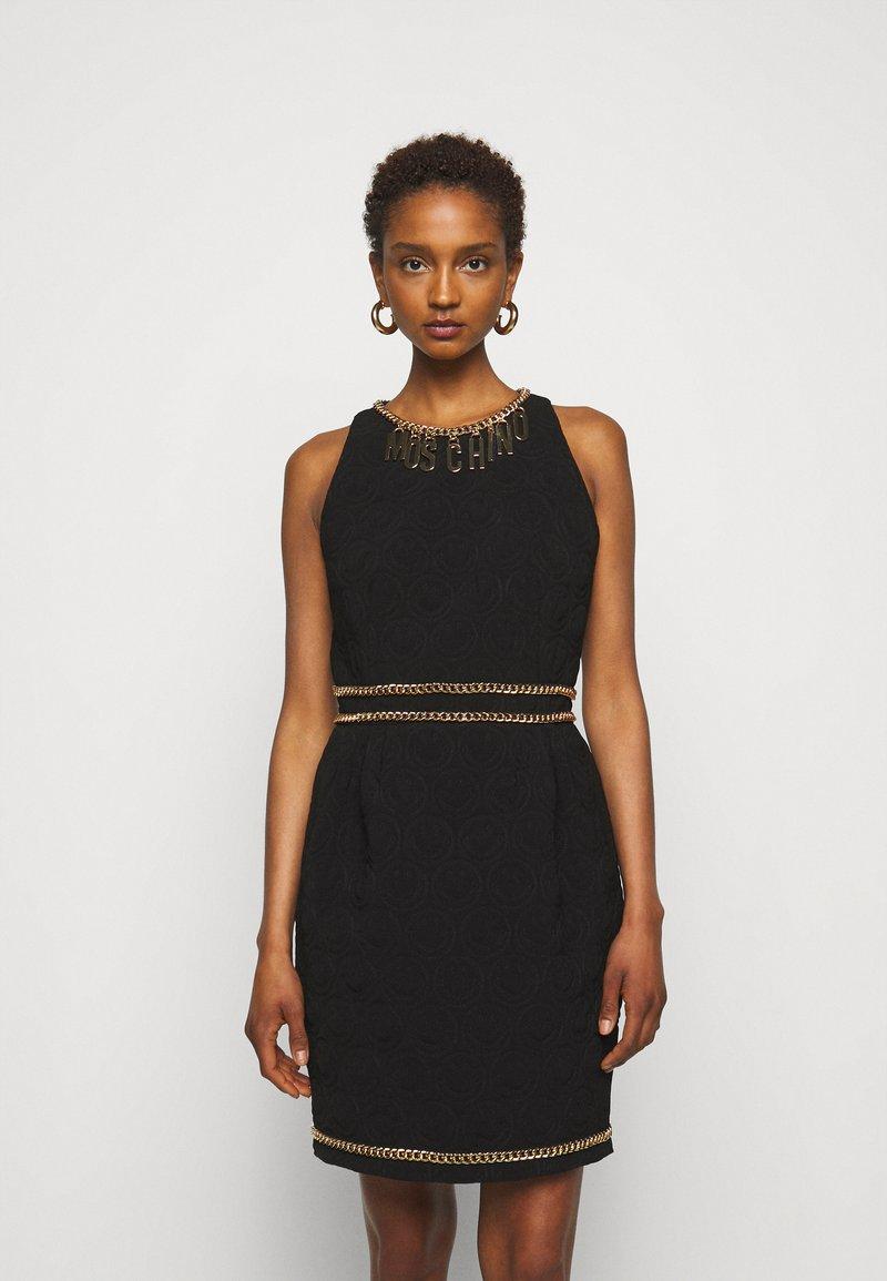 MOSCHINO - DRESS - Etui-jurk - black
