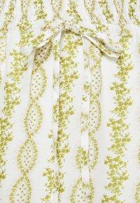 Cream - CROLINA SKIRT - A-line skirt - green - 2