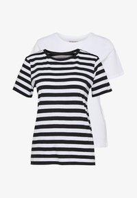 Anna Field - 2 PACK - T-shirt print - white - 4