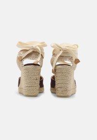 Castañer - CARINA  - Sandály na vysokém podpatku - mokka - 3