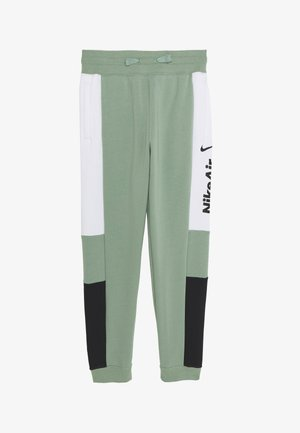 Tracksuit bottoms - silver pine/black/white
