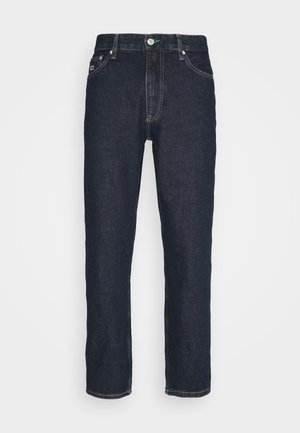 DAD STRAIGHT - Jeans a sigaretta - dark-blue denim