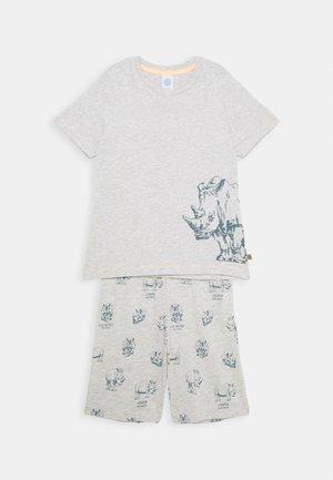 MINI PYJAMA SHORT - Pyjama - light platin meliert