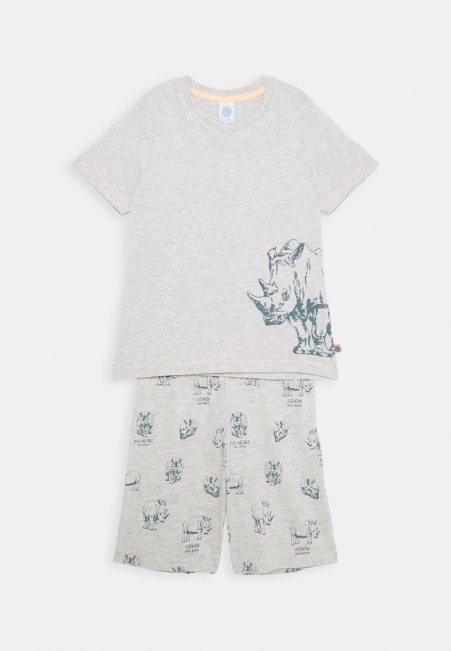MINI PYJAMA SHORT - Pigiama - light platin meliert