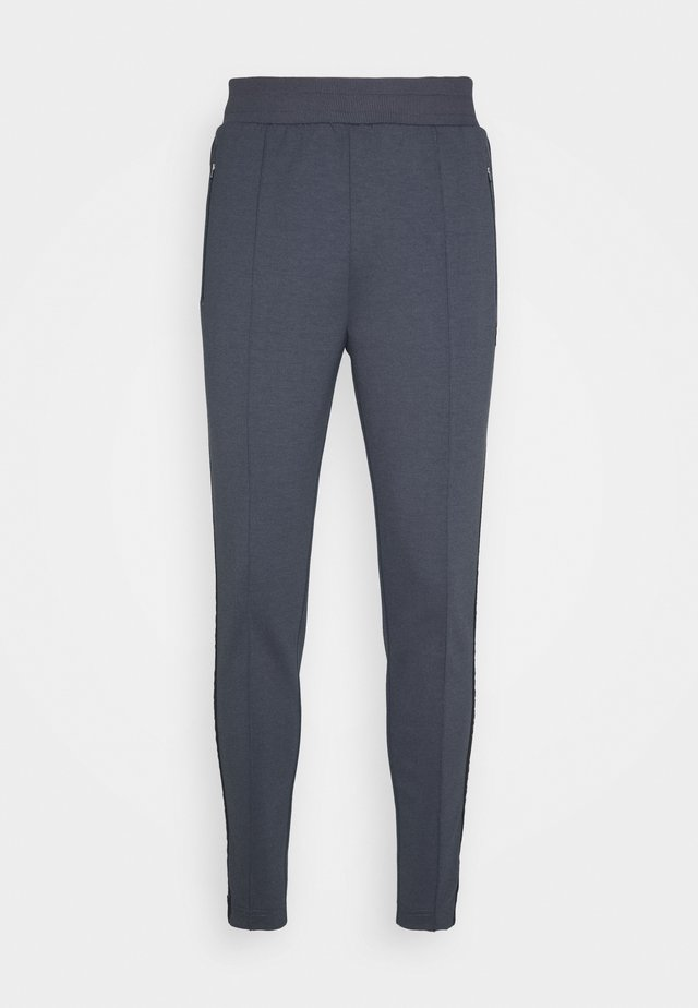 SIDE TAPE TRACKIES - Pantaloni sportivi - observer grey