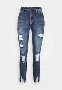 SIKSILK - SKINNY DENIMS - Jeans Skinny Fit - blue - 0