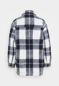 Madewell - AUSTIN COAT IN FUZZY PLAID - Klasický kabát - maryl/ink - 1