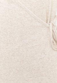 GAP - WRAP - T-shirts - oatmeal heather - 6