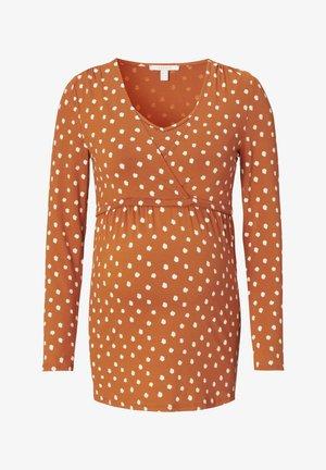 NURSING - Long sleeved top - rust