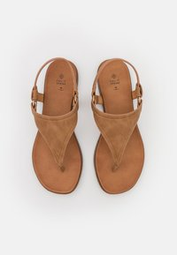 Call it Spring - ZOLLIE - T-bar sandals - cognac - 5