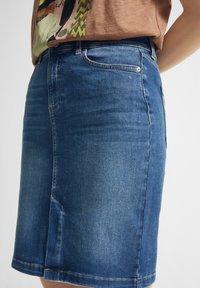 comma casual identity - Pencil skirt - blue - 4