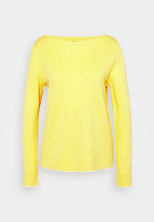 LANGARM - Jumper - lime yellow