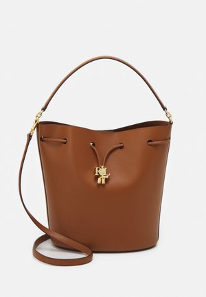 ANDIE DRAWSTRING LARGE - Handbag - tan