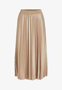 VINITBAN  - A-line skirt - sandshell