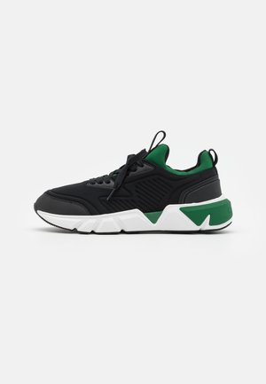 TOP LACE UP NEO - Sneakers laag - black/forest green