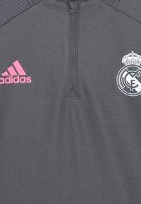 adidas Performance - REAL MADRID AEROREADY FOOTBALL - Klubové oblečení - grey - 3