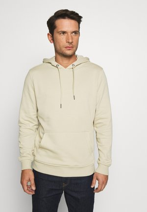 BASIC TERRY HOODIE - Jersey con capucha - concrete