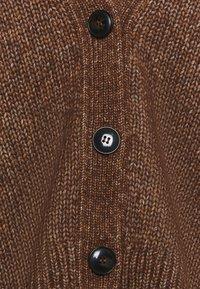 Marc O'Polo - CARDIGAN LONGSLEEVE - Kardigan - chestnut brown - 2