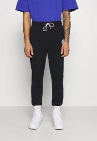 Jordan - PANT - Tracksuit bottoms - black/white - 0