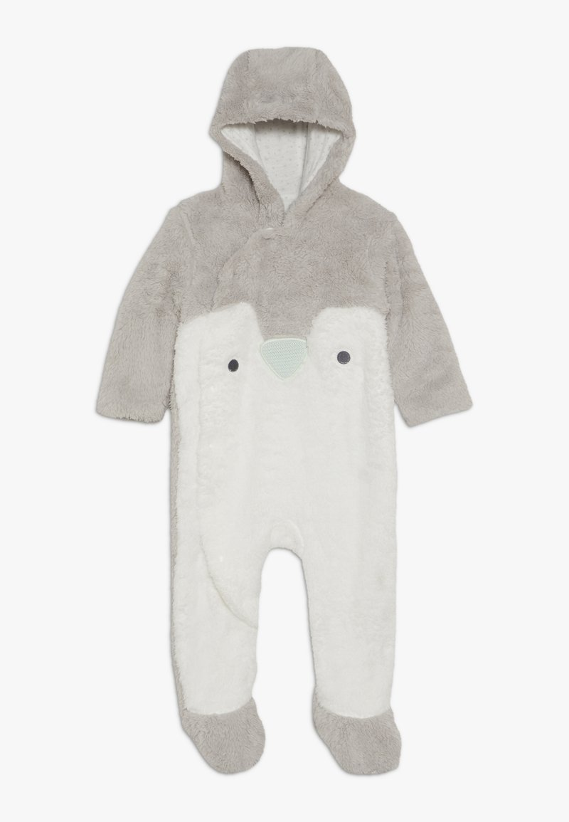 mothercare - BABY FESTIVE FLUFFY PENGUIN - Jumpsuit - grey