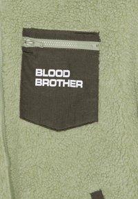 Blood Brother - BEAUVOIR UNISEX - Fleecetakki - green/beige - 2