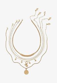 Stradivarius - 5 PACK - Necklace - gold-coloured - 2