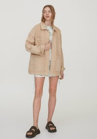 PULL&BEAR - Denim jacket - beige - 1