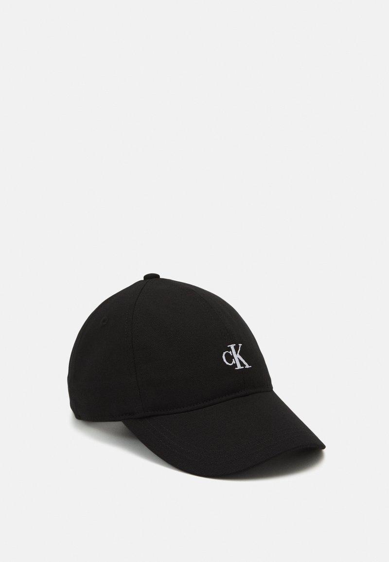 Calvin Klein Jeans - MONOGRAM BASEBALL UNISEX - Kšiltovka - black