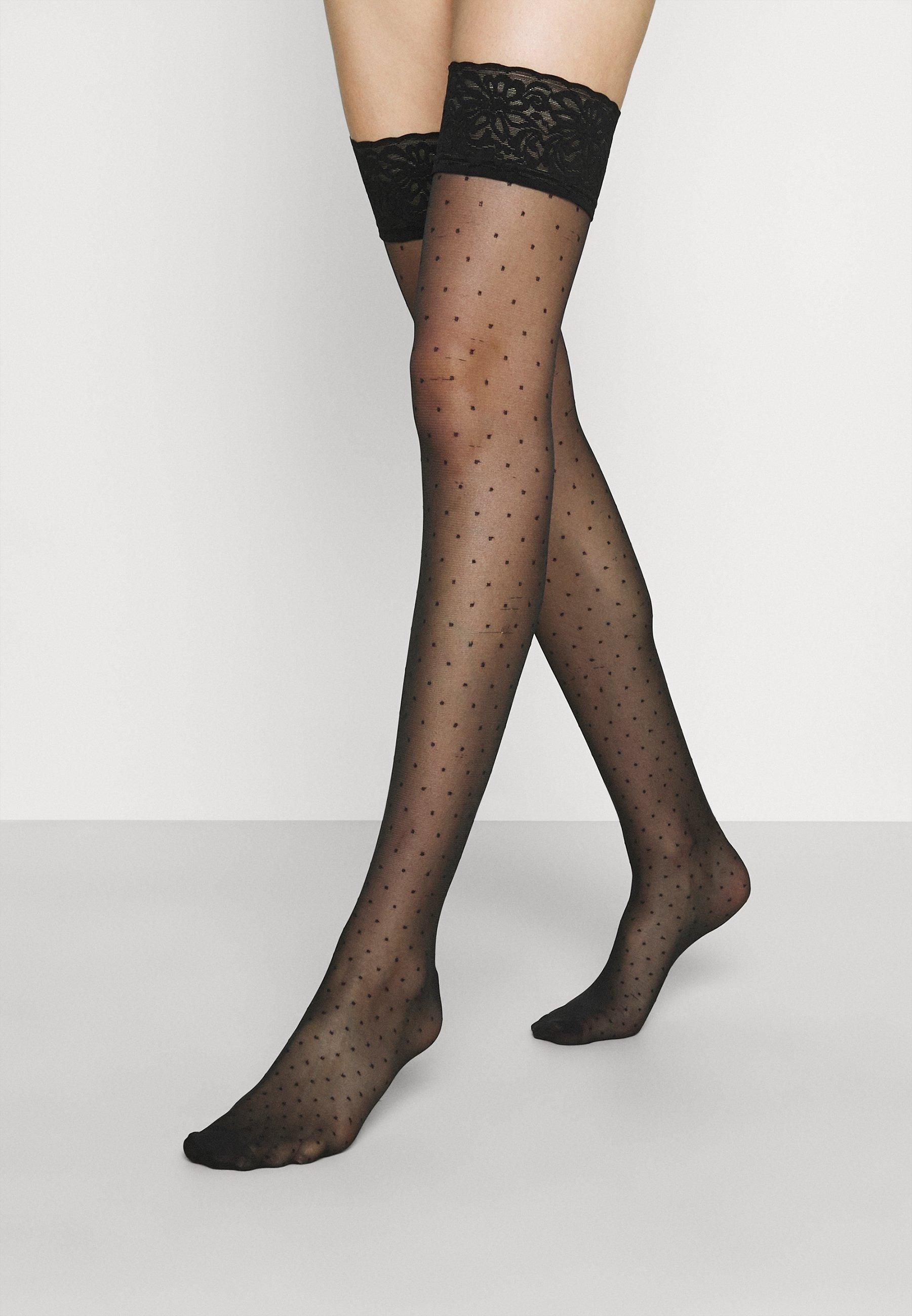 Damen SPOT BACK SEAM - Overkneestrümpfe
