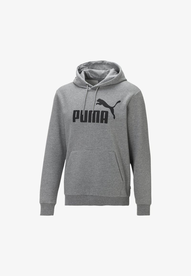 Puma - BLANK BIG LOGO - Hoodie - medium gray heather