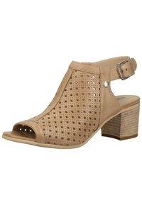 NeroGiardini - Ankle cuff sandals - champagne 439 - 3
