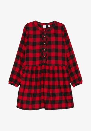 GIRL - Day dress - modern red