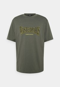 Wasted Paris - CASUALS UNISEX - T-shirt print - slate green - 0