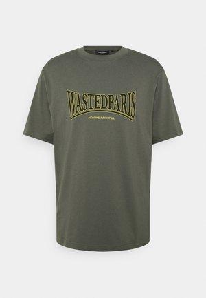 CASUALS UNISEX - T-shirt print - slate green