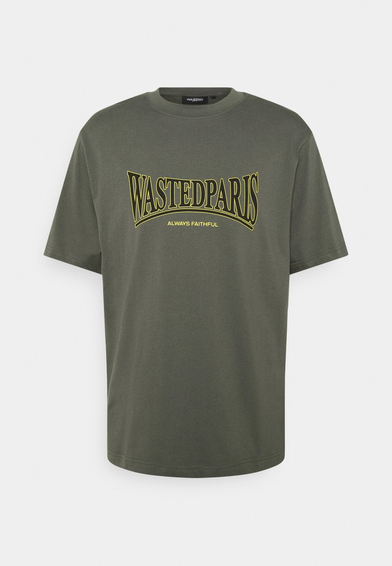 Wasted Paris - CASUALS UNISEX - T-shirt print - slate green