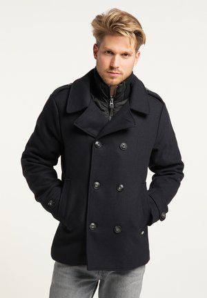 Short coat - black navy
