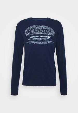 Long sleeved top - dark indigo